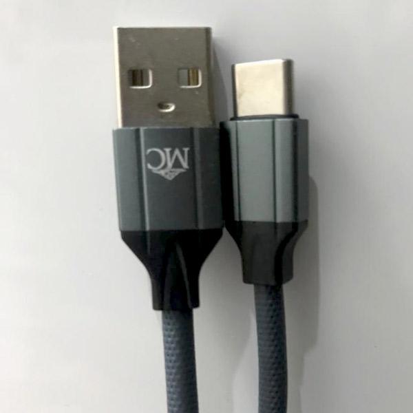 کابل تبدیل USB به USB-C ماکروکام مدل MK-101 طول 1 متر