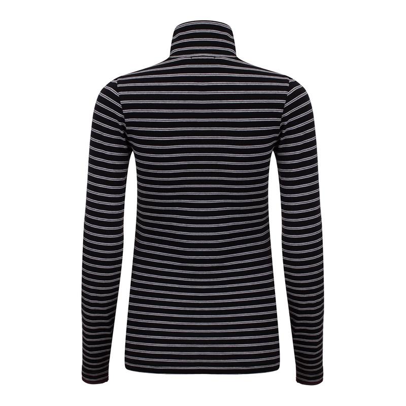 تی شرت آستین بلند زنانه سیاوود مدل 7210105 X-W-BLA