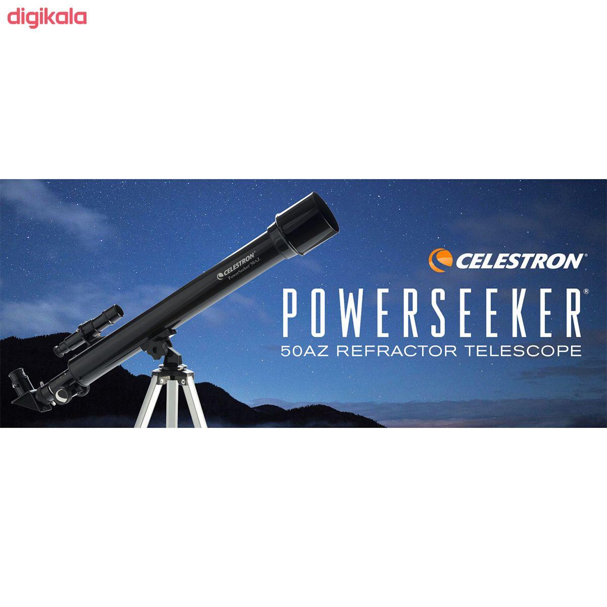 تلسکوپ سلسترون مدل  PowerSeeker کد 50 main 1 5