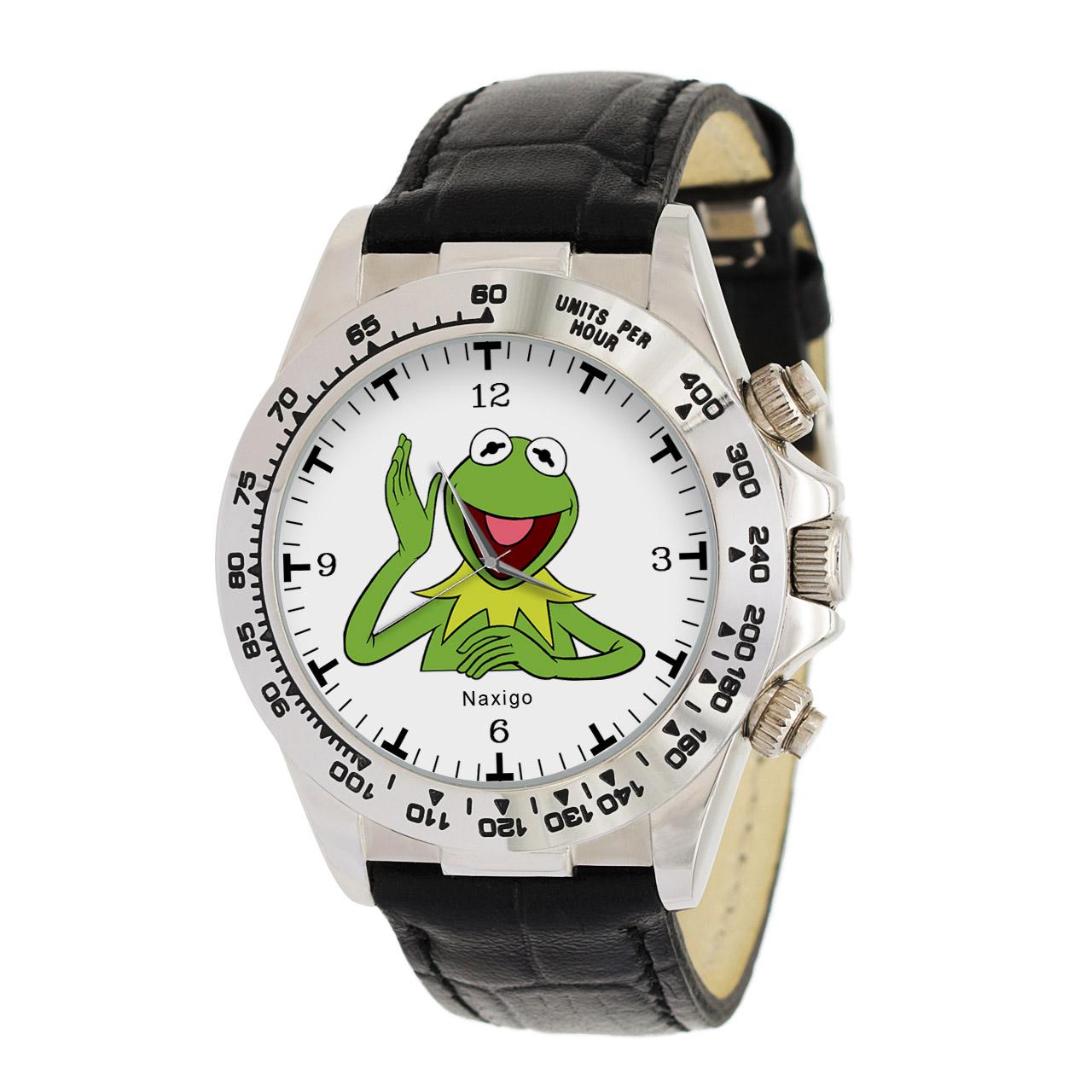 ساعت مچی  مردانه ناکسیگو طرح کرمیت کد LS3532