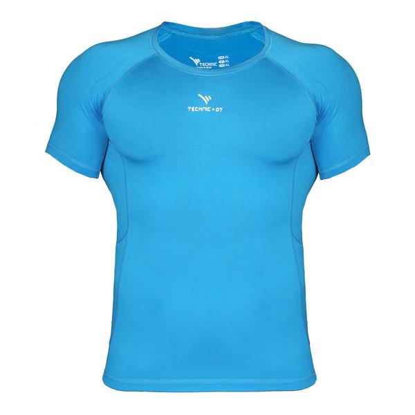 تی شرت ورزشی مردانه تکنیک پلاس07 مدل TS-117-FI