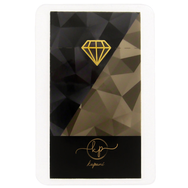 طلا گرمی 18 عیار کاپانی مدل الماس کد KC001