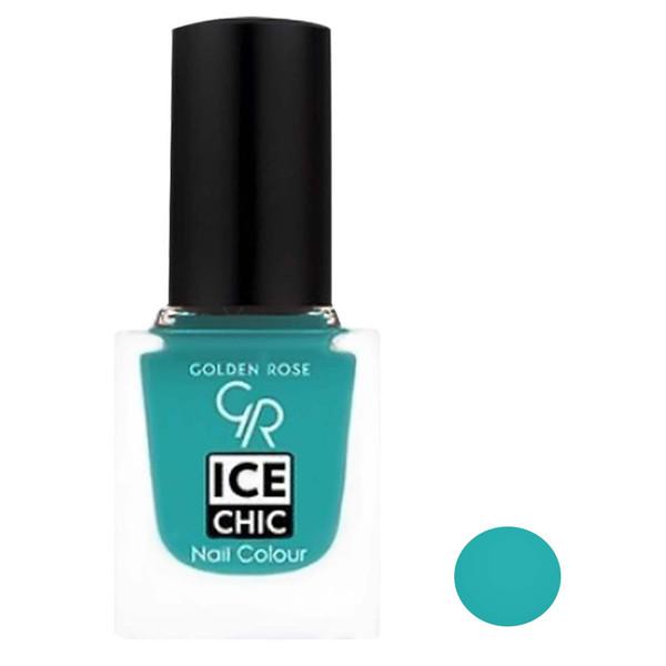 لاک ناخن گلدن رز مدل Ice chic شماره 95