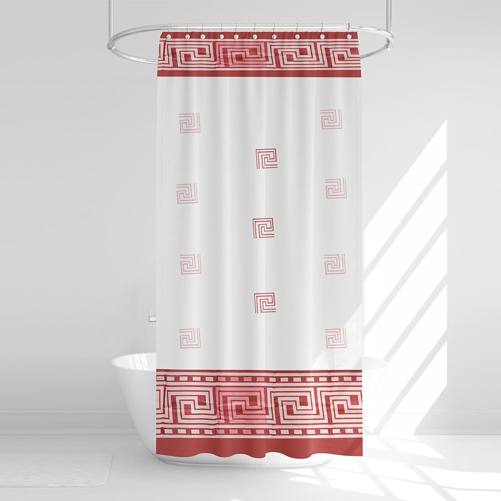 پرده حمام آرمیتا کد W042 سایز 180 × 200 سانتی متر