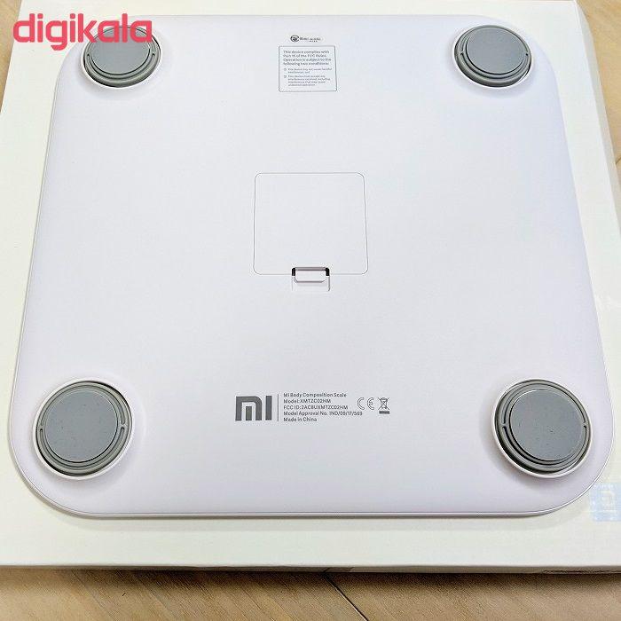 ترازو دیجیتال شیائومی مدل Mi body composition scale main 1 3