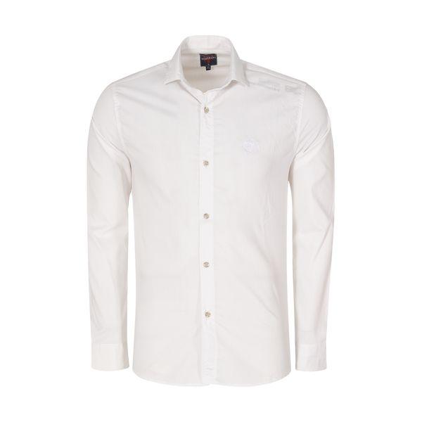 پیراهن مردانه کد PVLF-W-M-9903 رنگ سفید