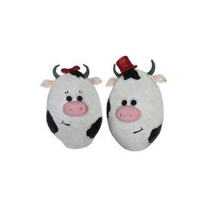 تخم مرغ تزیینی مدل گاو مجموعه 2 عددی