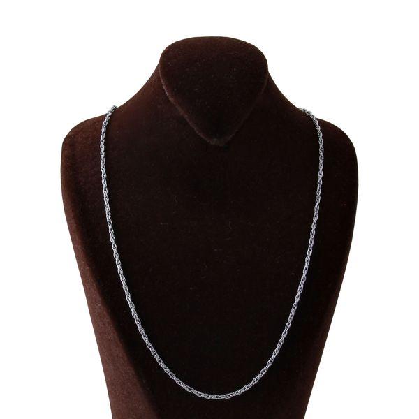 زنجیر نقره زنانه بازرگانی میلادی کد ZR_011