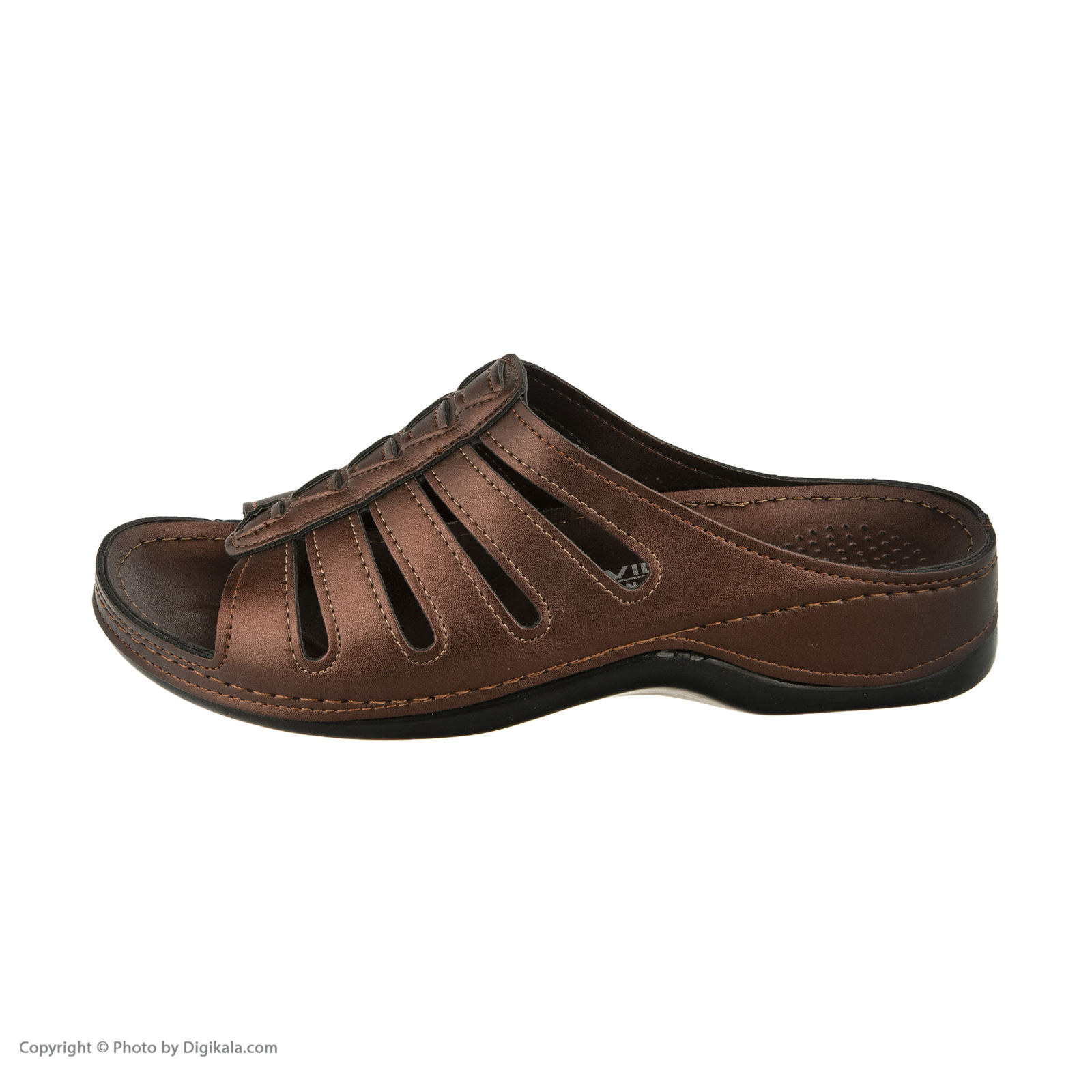 دمپایی زنانه کفش آویده کد av-0304212 رنگ مسی -  - 4