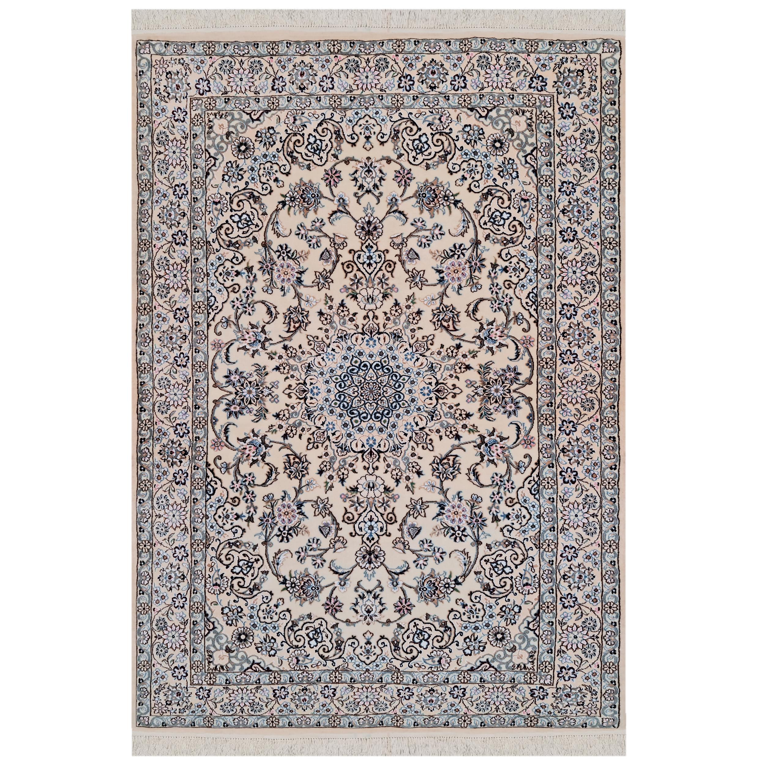 فرش دستبافت دو نیم متری مدل نایین کد 1105789