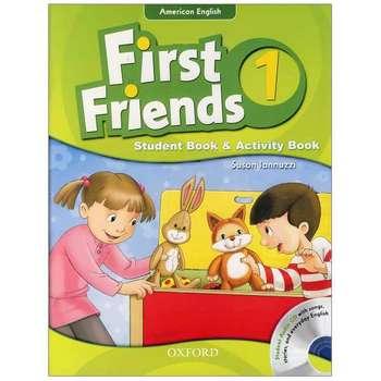 کتاب American English First Friends 1 اثر Susan Iannuzzi انتشارات oxford