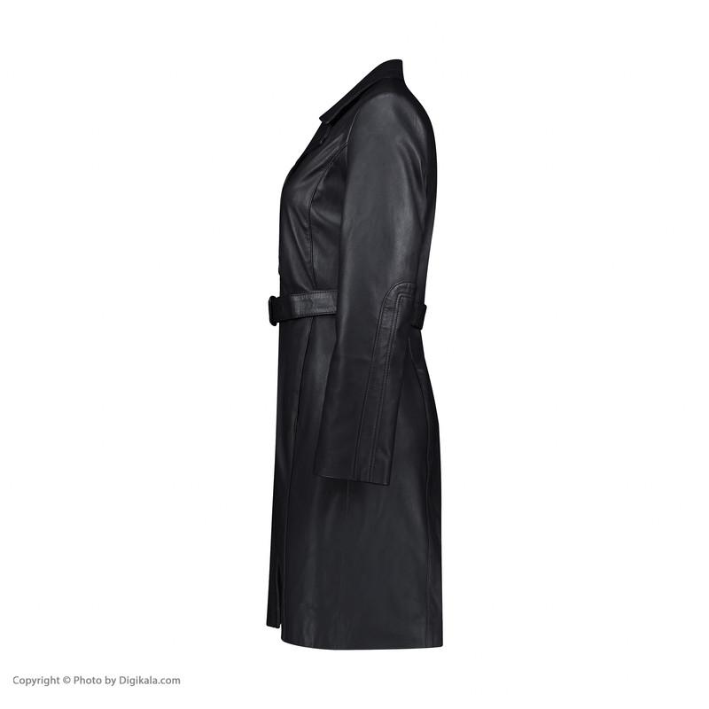 کت چرم زنانه شیفر مدل 2806M-08