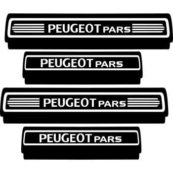 پارکابی خودرو سهیل چاپ کد01 مناسب برای پژو پارس مجموعه ۴ عددی