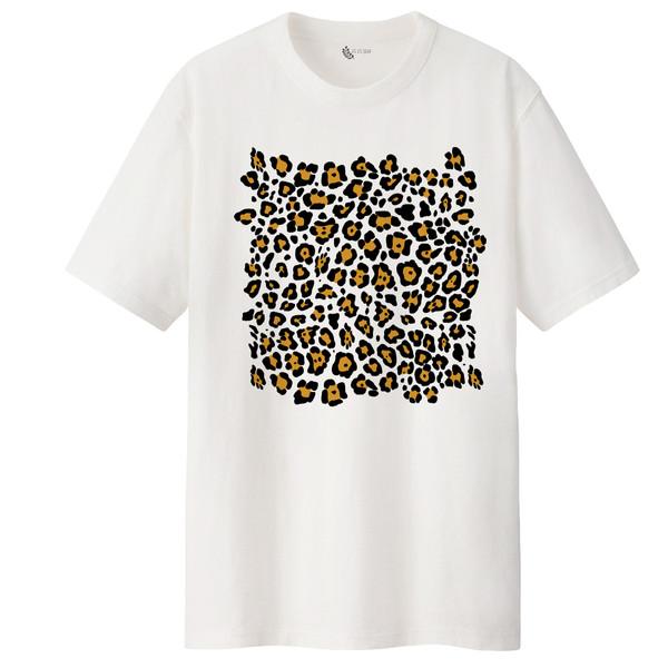 تی شرت آستین کوتاه زنانه مدل پلنگی