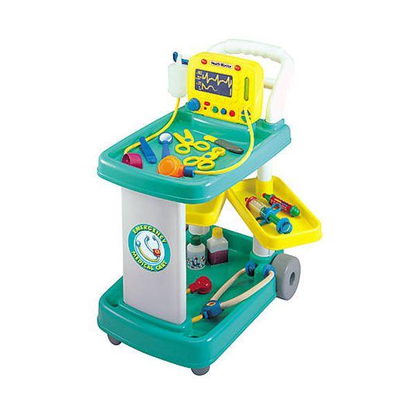 ست اسباب بازی تجهیزات پزشکی رد باکس مدل میز پزشکی کد 23694-1