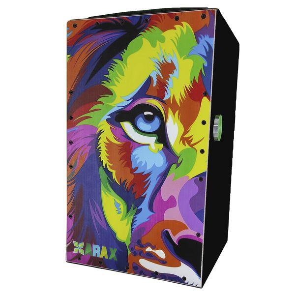 کاخن آراکس مدل شیر هفت رنگ