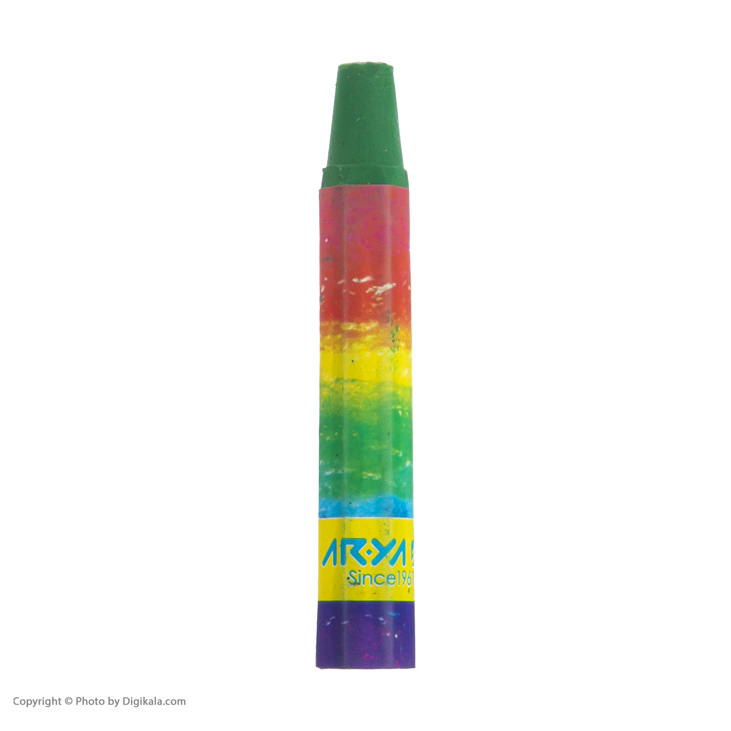 پاستل روغنی 12 رنگ آریا کد 2010 main 1 3