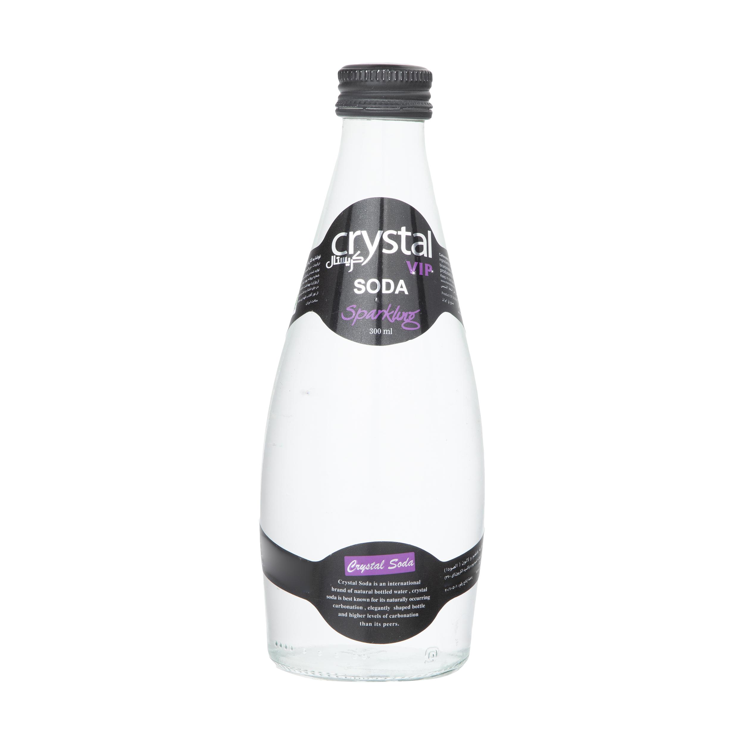 آب گازدار کریستال - 300 میلی لیتر