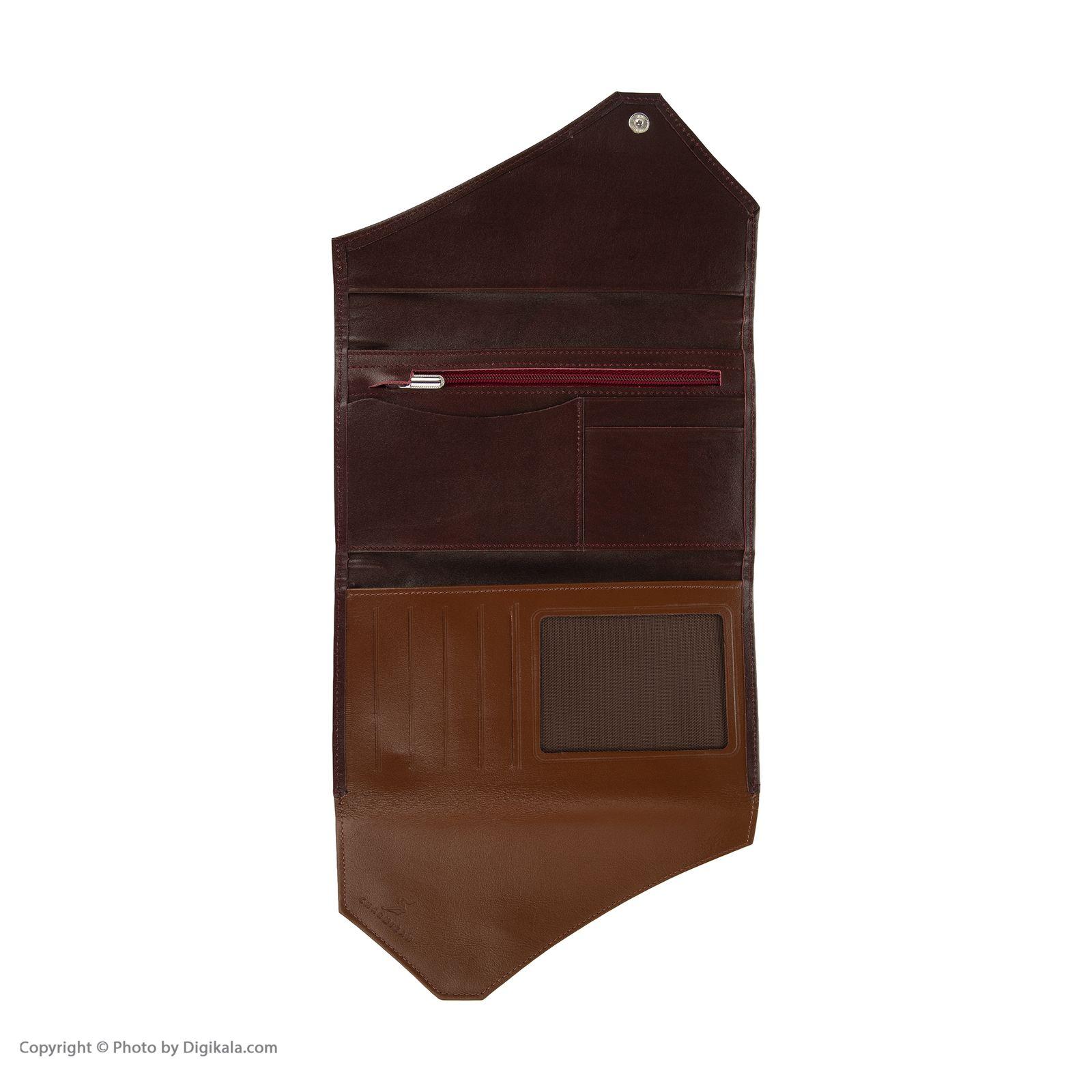 کیف پول چرمیران مدل 6059306 -  - 5