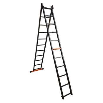 نردبان 22 پله مهرنگار مدل GALAXY به همراه پایه تعادل
