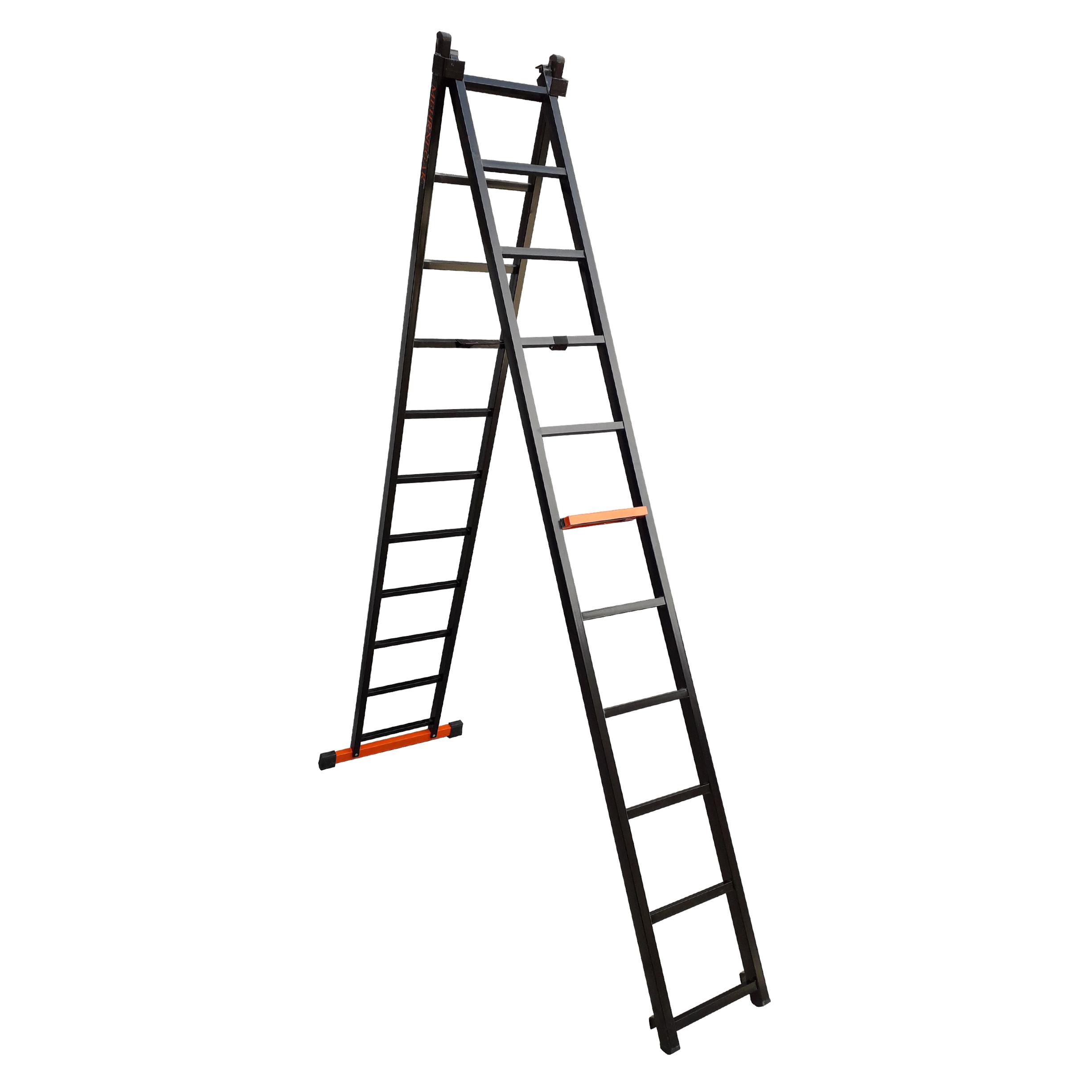 نردبان 22 پله مهرنگار مدل GALAXY