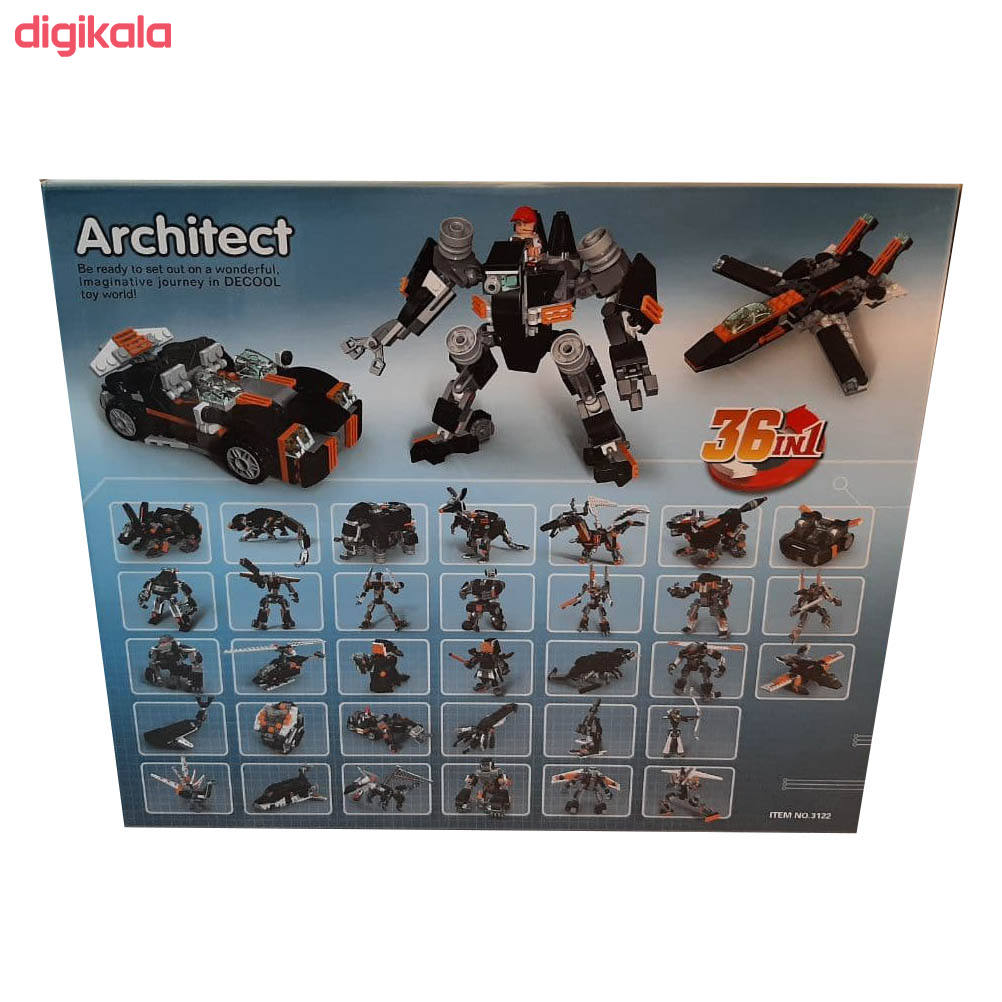 ساختنی دکول مدل آرشیتکت 36 مدل 01 main 1 9