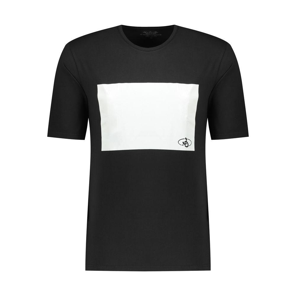 تی شرت مردانه پاتن جامه مدل 99M5224 رنگ مشکی