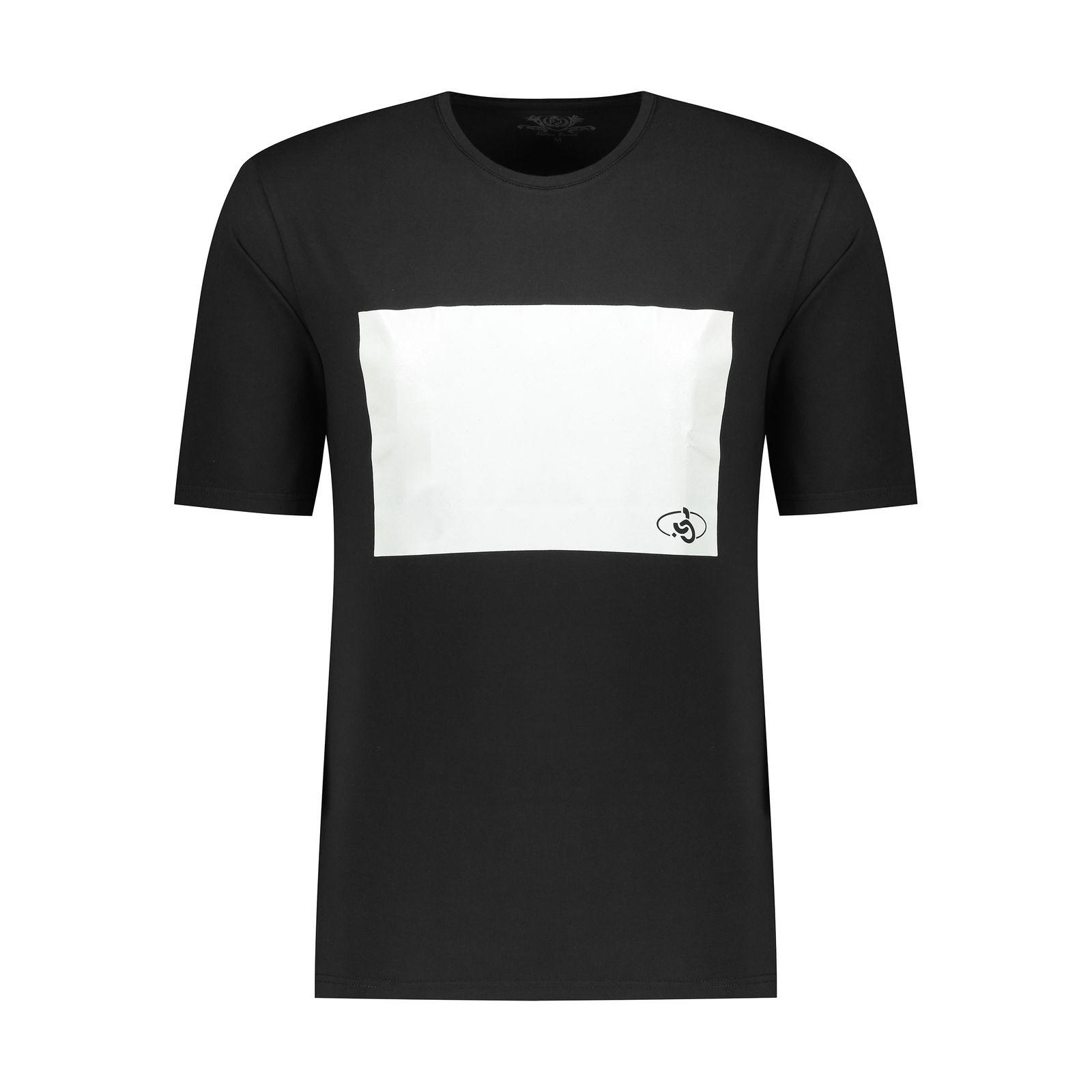 تی شرت مردانه پاتن جامه مدل 99M5224 رنگ مشکی -  - 2
