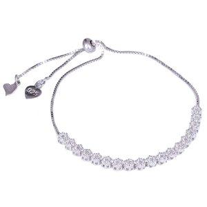 دستبند نقره زنانه مدل GTA-147