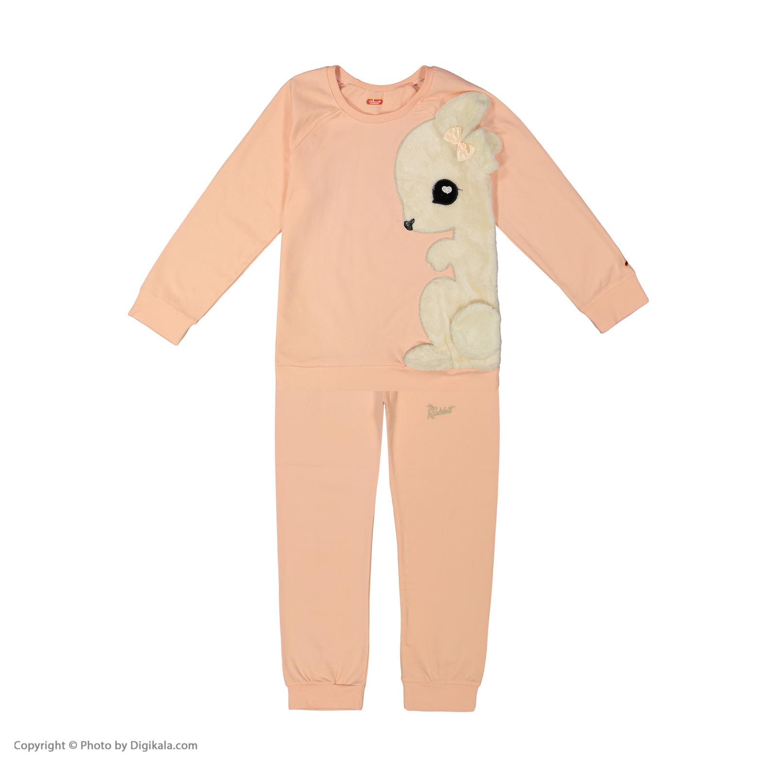 ست تی شرت و شلوار دخترانه مادر مدل 302-80 main 1 1