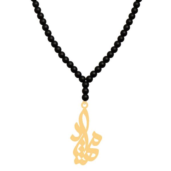 گردنبند طلا 18 عیار زنانه کرابو طرح مهشاد مدل Kr71369