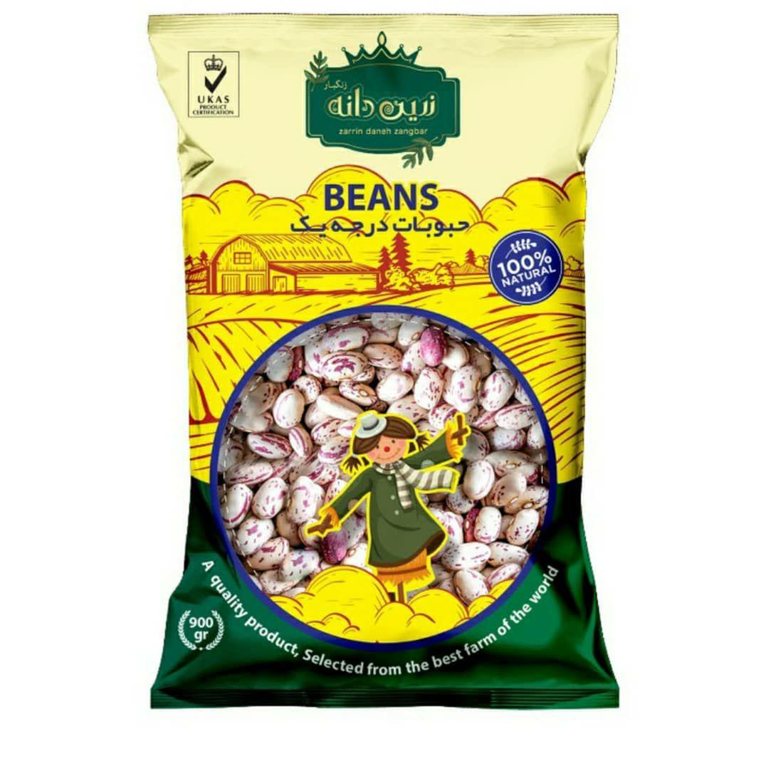 Zarrin daneh zangbar pinto beans- 900 grams