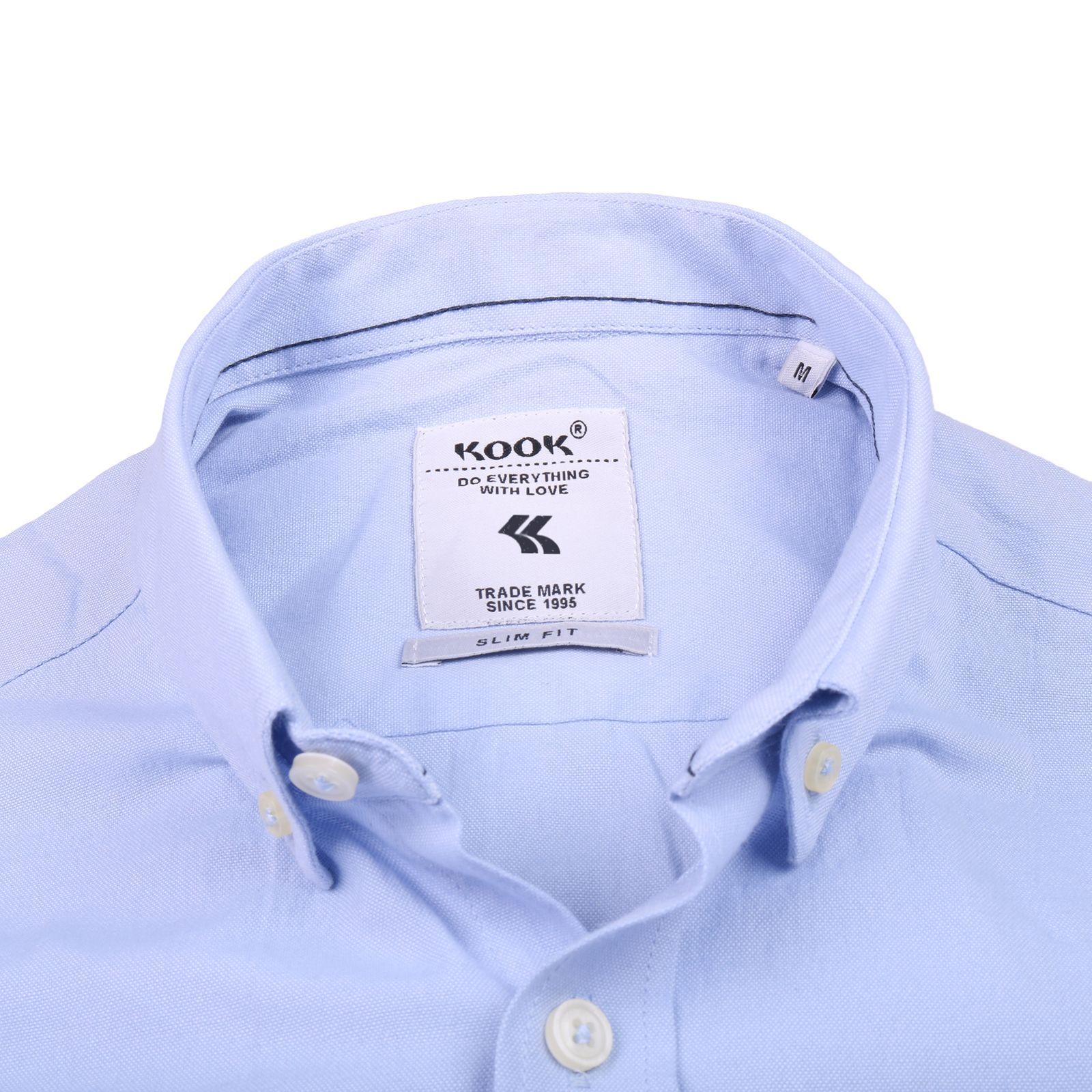 پیراهن مردانه کوک تریکو مدل 61727 -  - 4