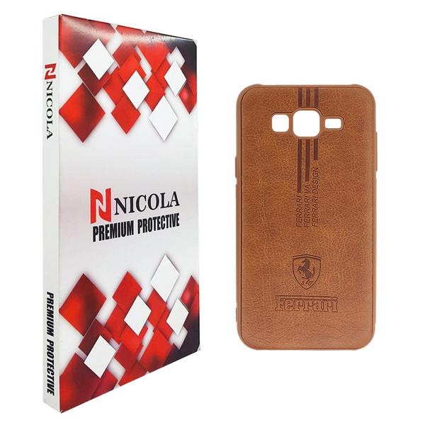 کاور نیکلا مدل N_FRE مناسب برای گوشی موبایل سامسونگ Galaxy J5 2015