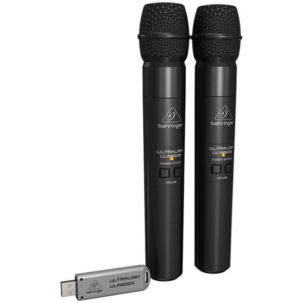 مجموعه دو عددی میکروفون بیسیم دیجیتال بهرینگر مدل Ulm202usb