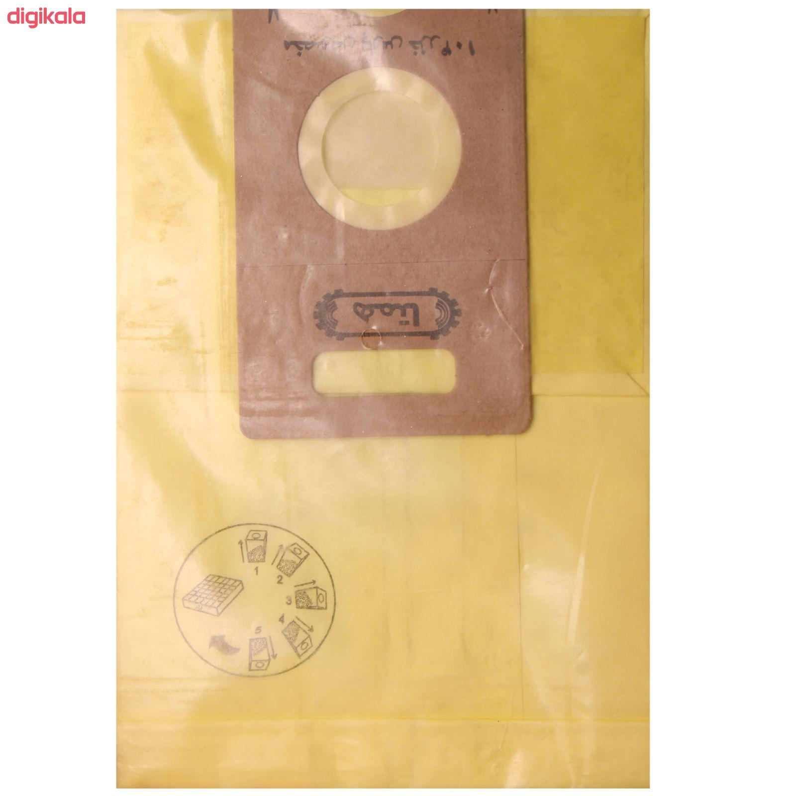 کیسه جارو برقی همتا  کد1166بسته 5 عددی مناسب برای جارو های پارس خزر main 1 1