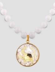 گردنبند زنانه الون طرح نماد ماه تیر کد SAD102 -  - 4