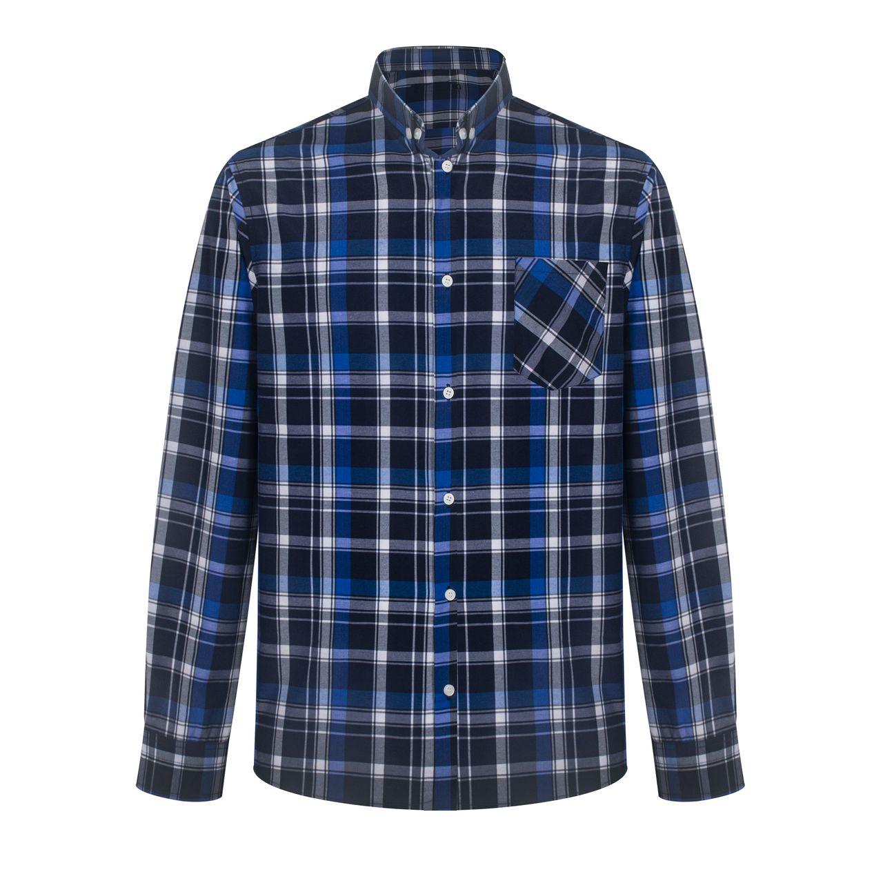 پیراهن آستین بلند مردانه مدل 214
