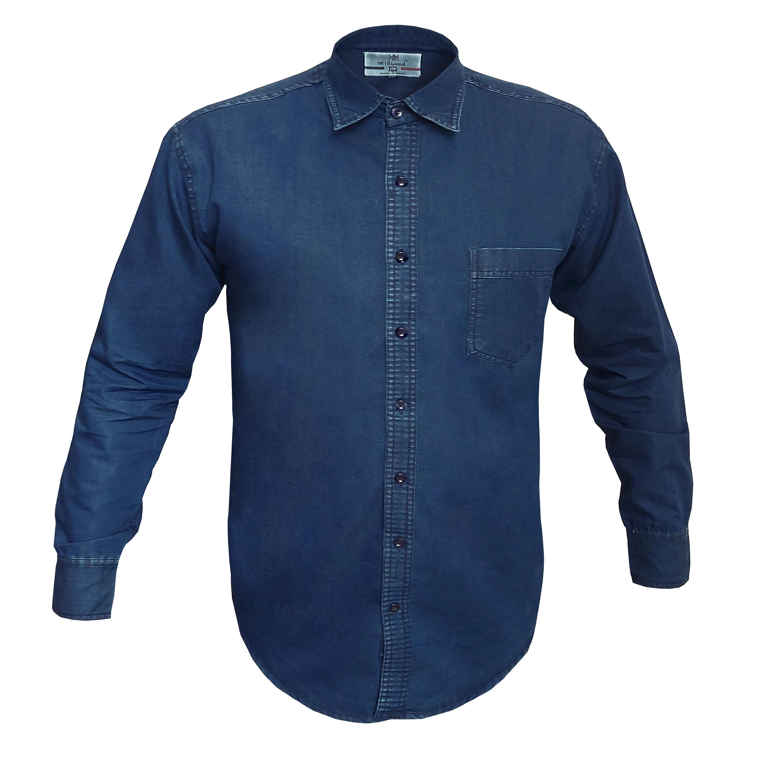 پیراهن آستین بلند مردانه مدل 131