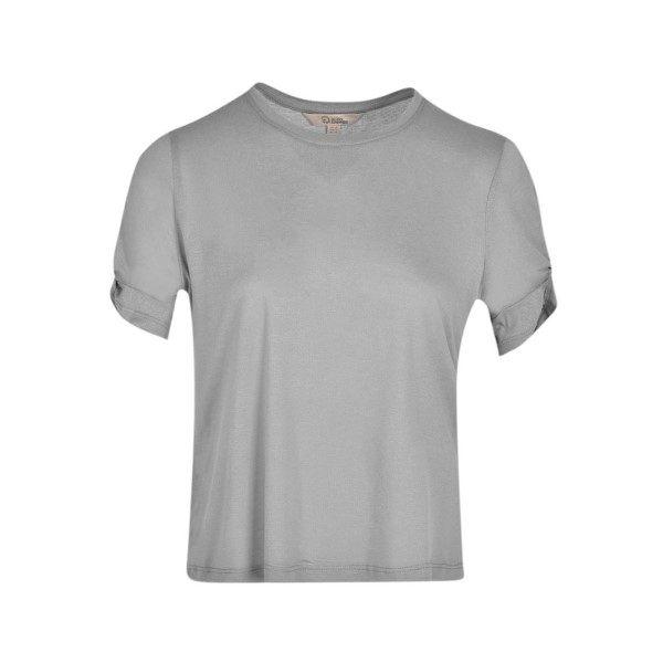 تی شرت آستین کوتاه زنانه بادی اسپینر مدل 1788 کد 1 رنگ طوسی