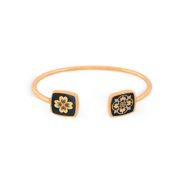 دستبند زنانه زرسام مدل شانس کد 10000016
