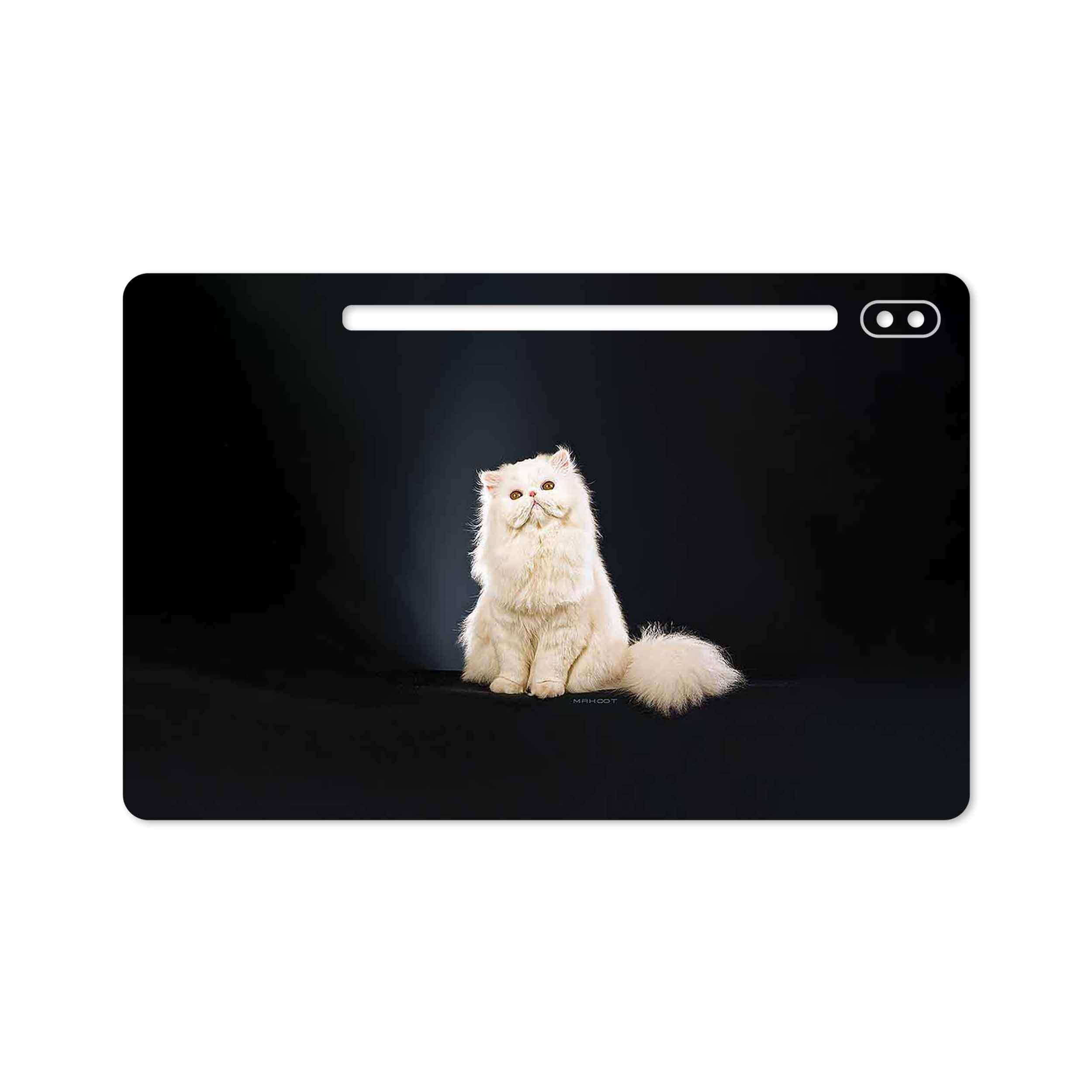 بررسی و خرید [با تخفیف]                                     برچسب پوششی ماهوت مدل Persian cat مناسب برای تبلت سامسونگ Galaxy Tab S6 2019 SM-T865                             اورجینال