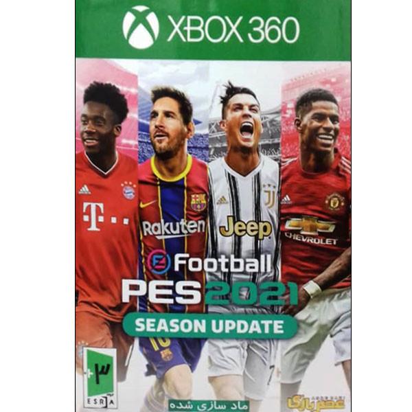 بازی PES 21 مخصوص xbox360 نشر عصر بازی