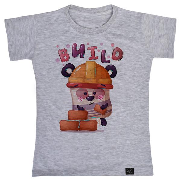 تی شرت پسرانه 27 طرح Bnild کد B12