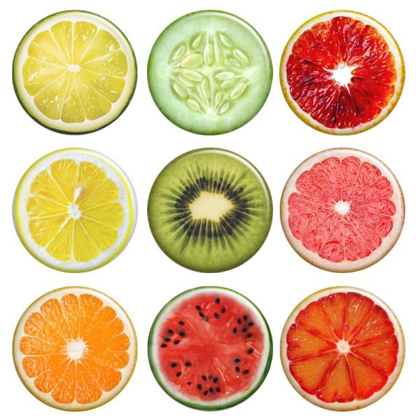 مگنت طرح میوه کد 115 مجموعه 9 عددی