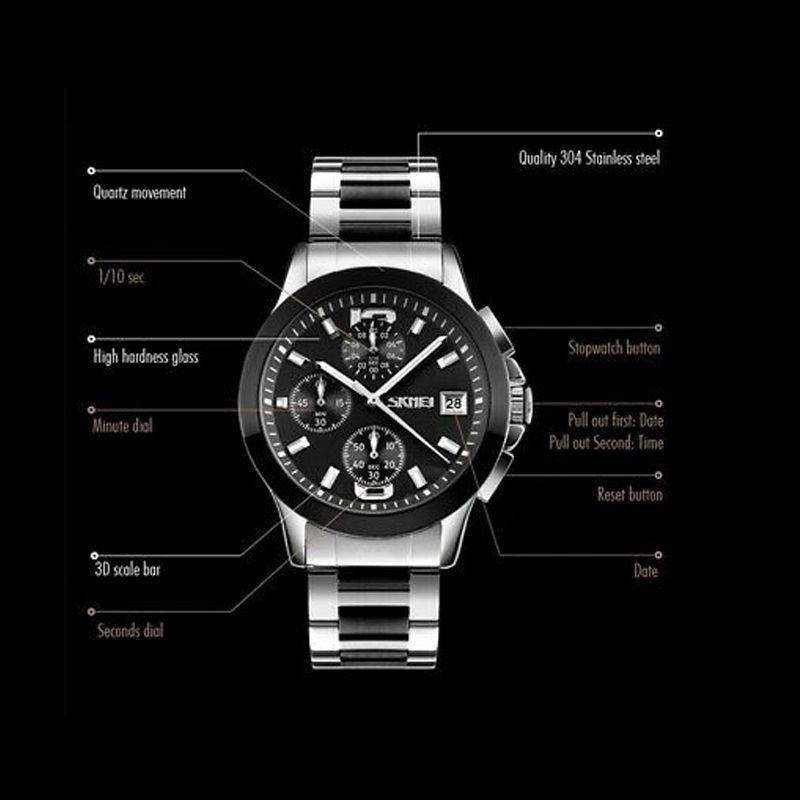 ساعت مچی عقربه ای مردانه اسکمی مدل 9126M-NP -  - 6