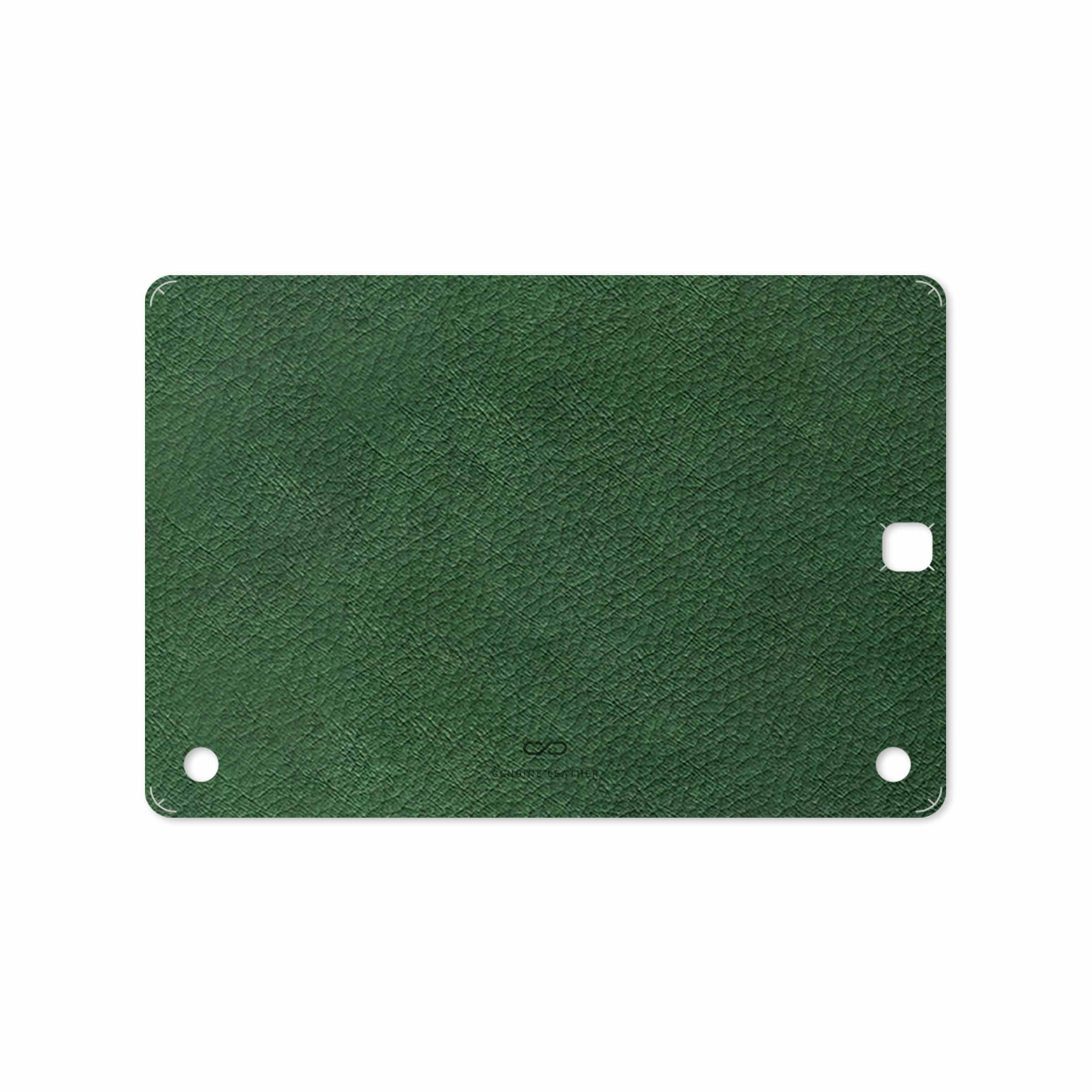 بررسی و خرید [با تخفیف]                                     برچسب پوششی ماهوت مدل Green-Leather مناسب برای تبلت سامسونگ Galaxy Tab A 9.7 2015 T555                             اورجینال
