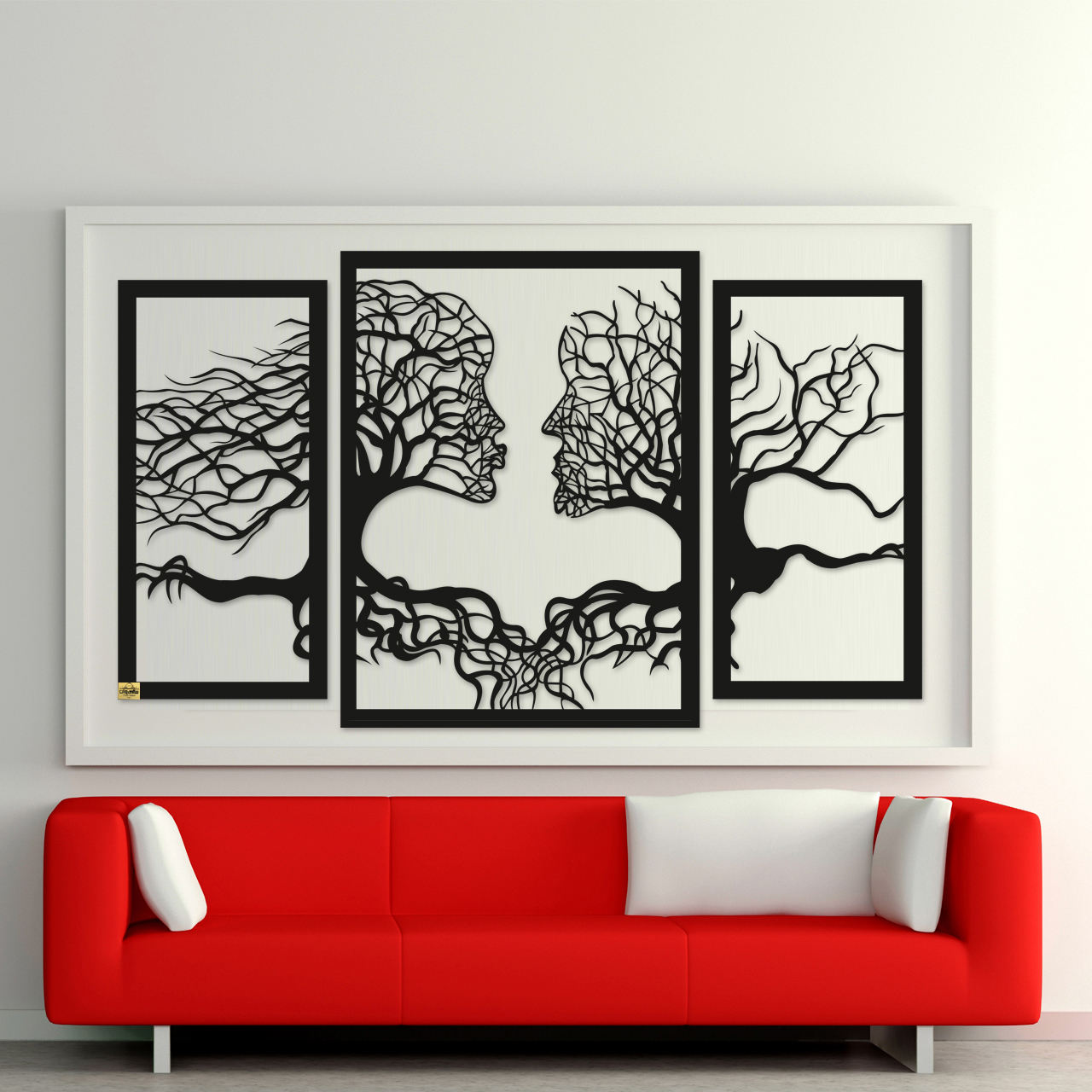 دیوارکوب سالی وان مدل Tree Life مجموعه 3 عددی
