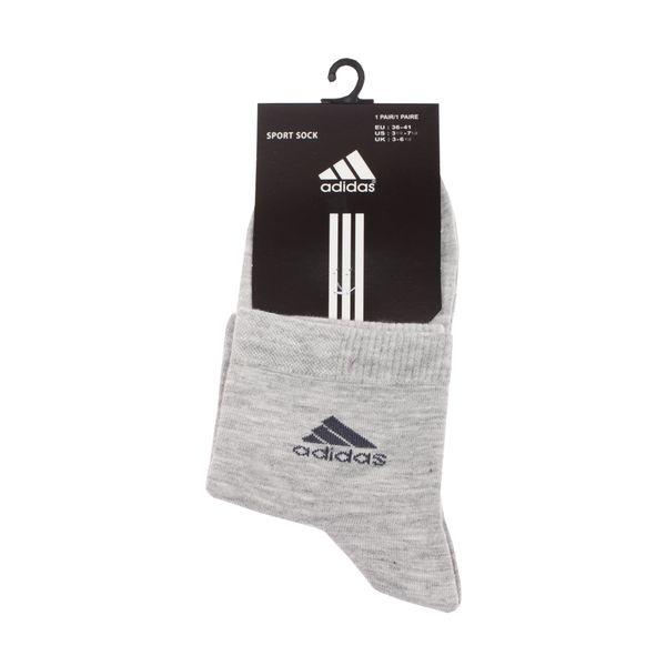 جوراب مردانه مدل A-2020 رنگ طوسی روشن
