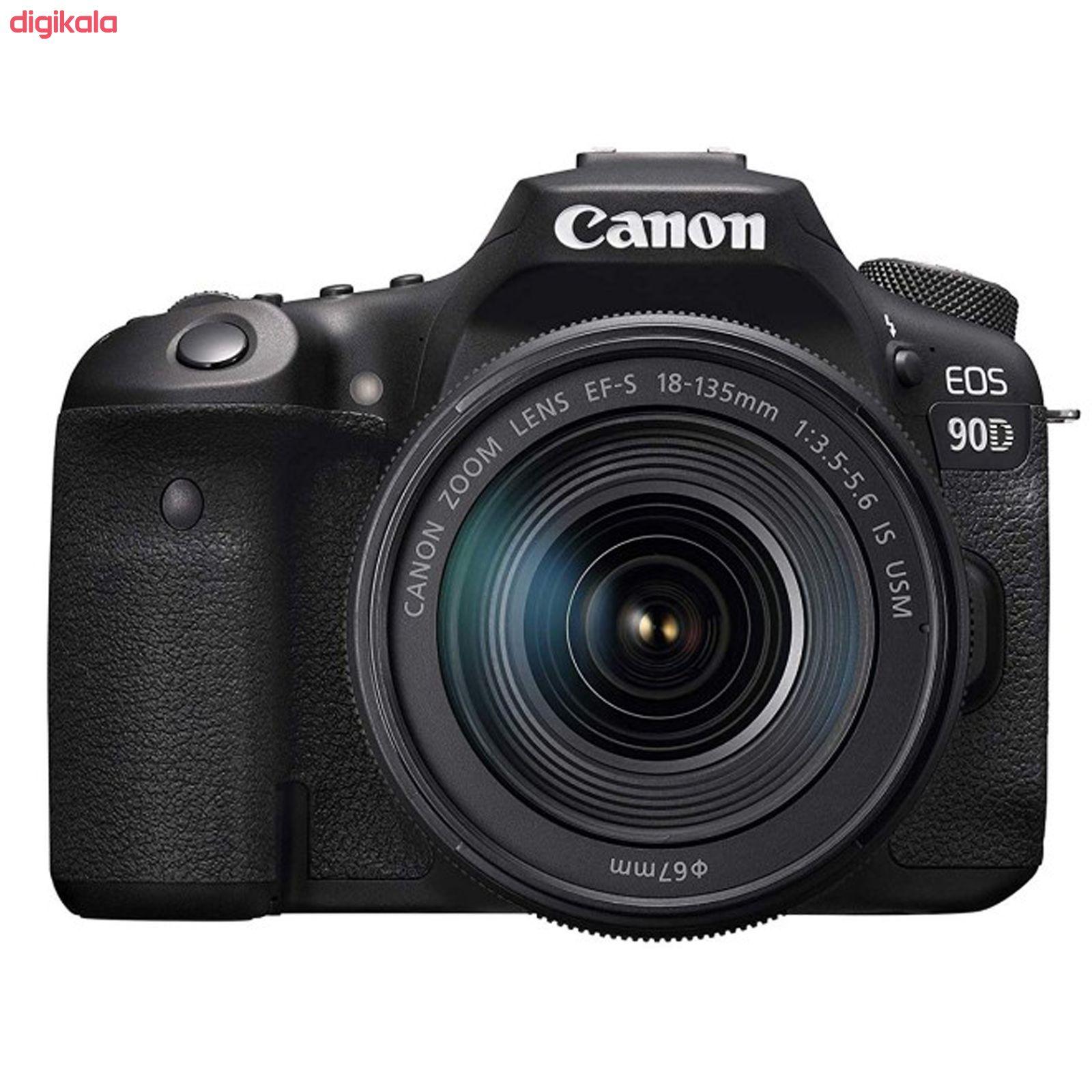 دوربین دیجیتال کانن مدل EOS 90D به همراه لنز 135-18 میلی متر IS USM main 1 1